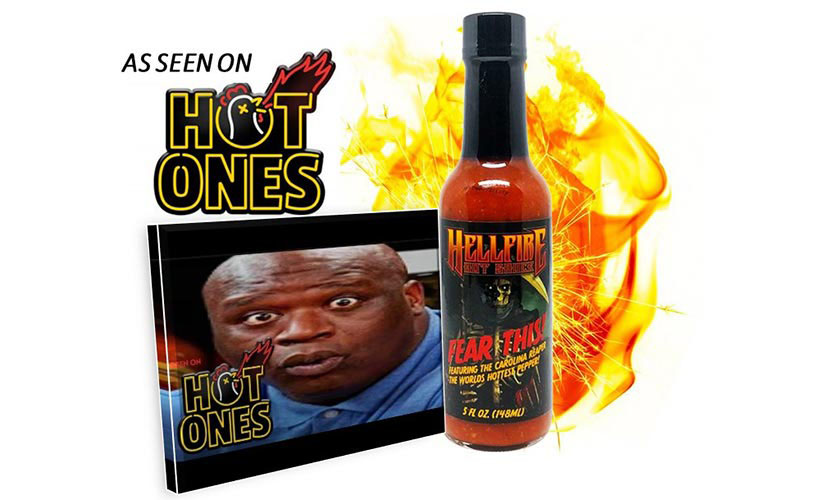 Hellfire Fear This Featured on Hot Ones